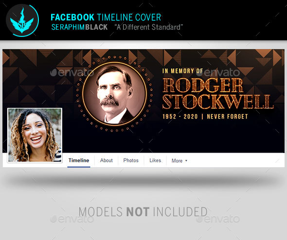 GraphicRiver Art Deco Funeral Facebook Timeline Cover Template 21142248