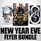 New Year Flyer Bundle 4 - GraphicRiver Item for Sale