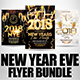 New Year Flyer Bundle 5 - GraphicRiver Item for Sale
