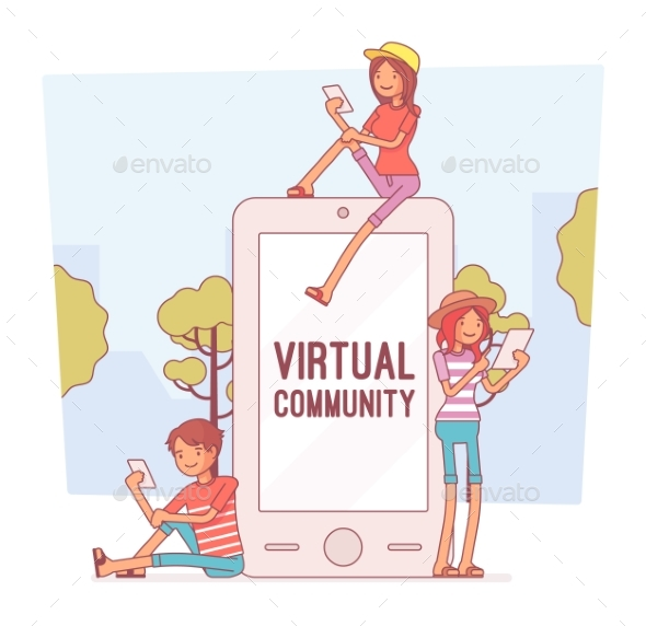 GraphicRiver Virtual Youth Communication 21142424