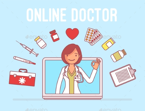 GraphicRiver Online Doctor Service 21142436