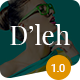D'leh - Creative Multi-Purpose WordPress Theme - ThemeForest Item for Sale