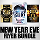 New Year Flyer Bundle 6 - GraphicRiver Item for Sale