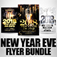 New Year Flyer Bundle 7 - GraphicRiver Item for Sale