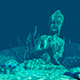 Statue Under Water - VideoHive Item for Sale