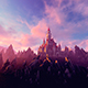 Castle On A Rocky Mountain - VideoHive Item for Sale