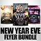 New Year Flyer Bundle 8 - GraphicRiver Item for Sale