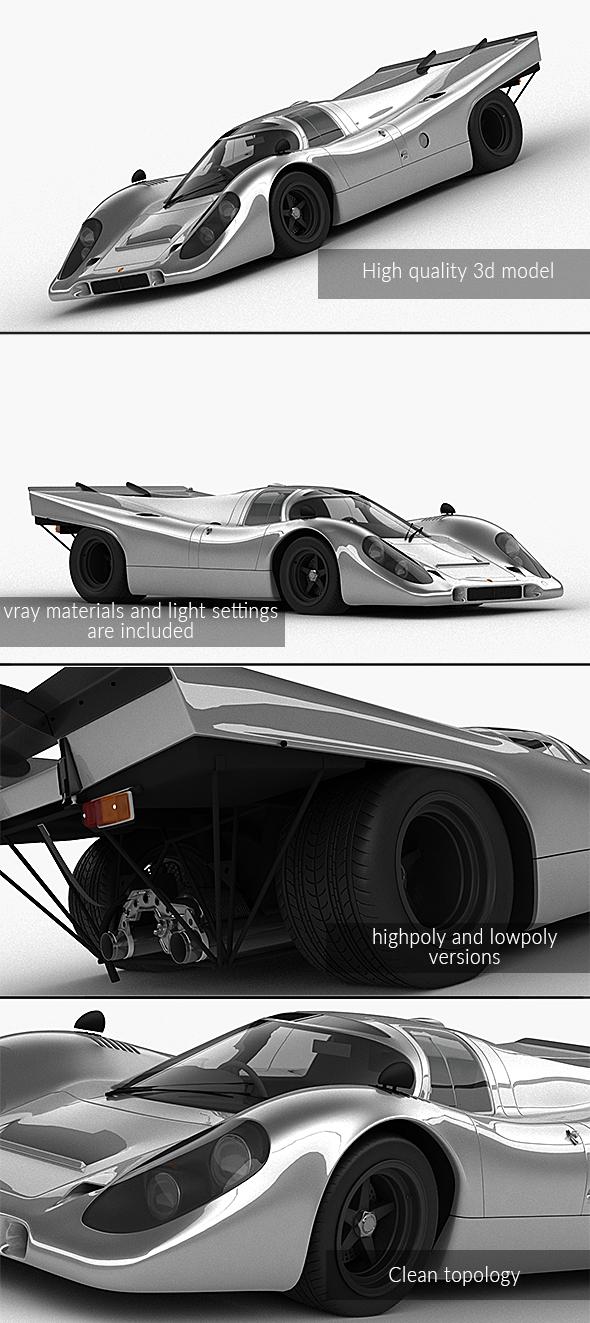 3DOcean Porsche 917 K 1969 21142858