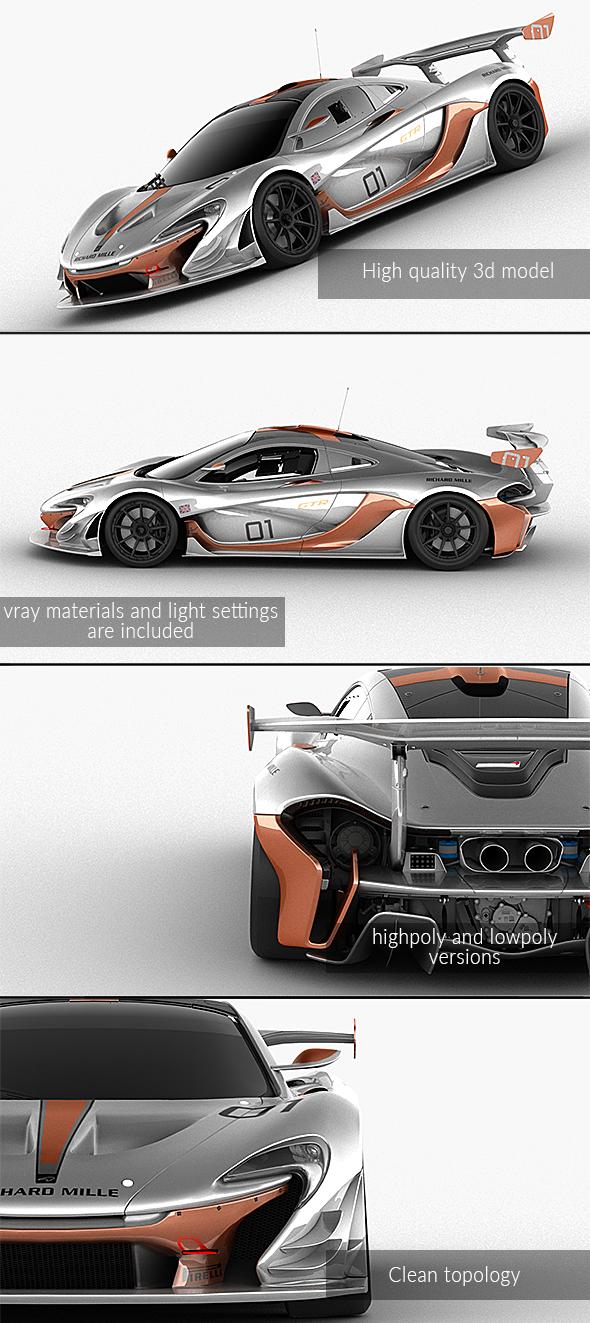 3DOcean McLaren P1 GTR 21142869