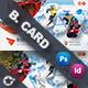 Winter Adventure Business Card Templates