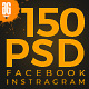 150-psd-facebook-instagram