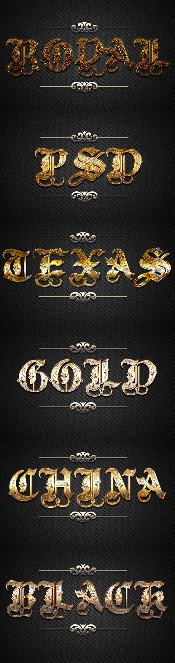 GraphicRiver 10 3D Gold Text Styles D 47 21143260
