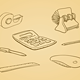 Illustrated Office Tools - GraphicRiver Item for Sale