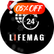 LifeMag - Responsive Magazine WordPress Theme - ThemeForest Item for Sale