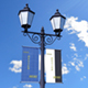 Lamp Post Banner Mock-Up