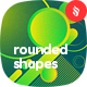 Rounded Shapes Backgrounds - GraphicRiver Item for Sale