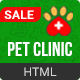 Pet Clinic | Veterinary Responsive HTML Template - ThemeForest Item for Sale
