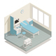 Hospital Medical Equipment Isometric Composition - GraphicRiver Item for Sale