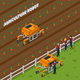 Agricultural Robot Isometric Composition