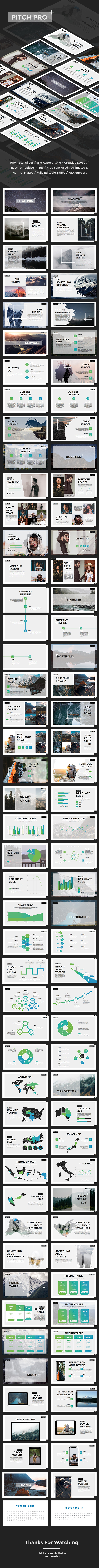 Pitch Pro - Start Up Pitch Deck PowerPoint Template - Pitch Deck PowerPoint Templates
