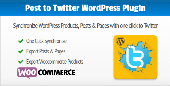 Post to Twitter Synchronize WordPress Posts, Pages and Products to your Twitter Account - CodeCanyon Item for Sale