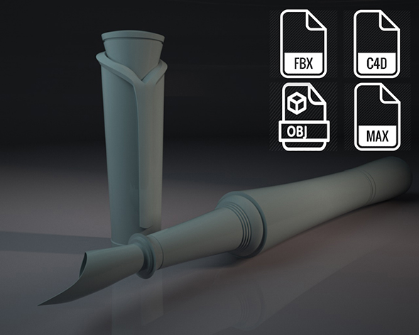 Pen-Montblanc - 3DOcean Item for Sale