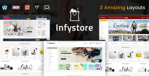 ThemeForest Infystore Multipurpose WooCommerce Theme 21114806