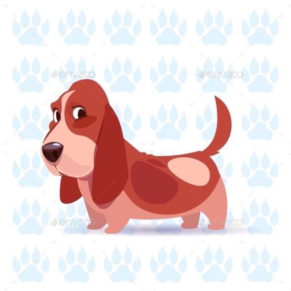 Basset Hound - Animals Characters