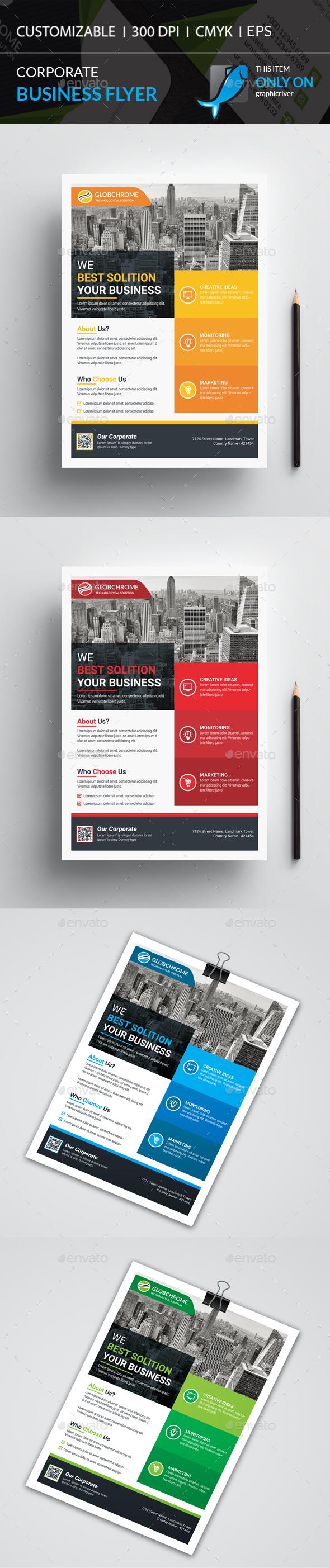 GraphicRiver Corporate Flyer 21143760