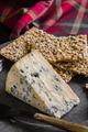 Mature Stilton Cheese and Spelt Crackers - PhotoDune Item for Sale