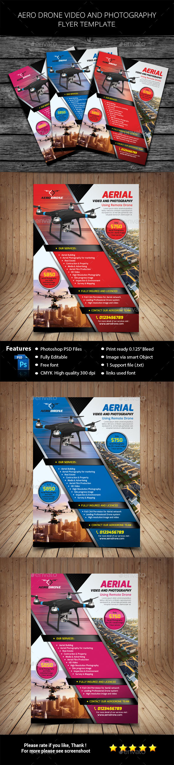 Aero Drone Video and Photography - Commerce Flyers