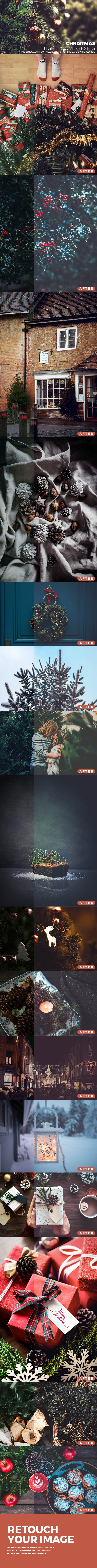 Christmas Lightroom Presets - Lightroom Presets Add-ons