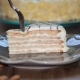Piece of Homemade Esterhazy Cake. - VideoHive Item for Sale