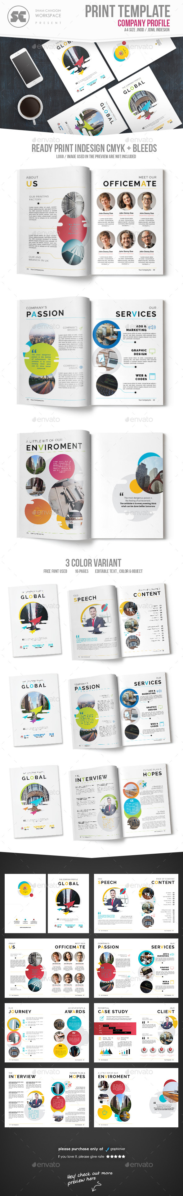 GraphicRiver Company Profile 21144046