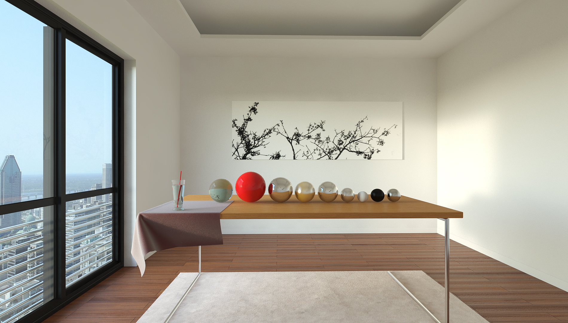 Vray interior render setup by visuarch 3docean for Vray interior