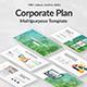 Corporate Plan Multipurpose Powerpoint Template