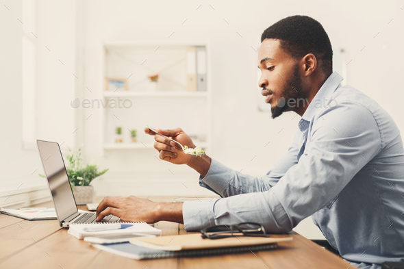 Business woman thinking about successful strategy - Stock Photo - Images