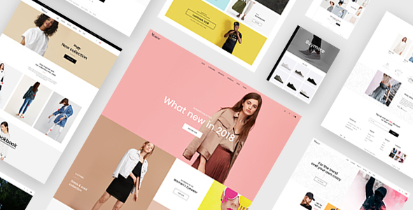 ThemeForest Manor Ecommerce PSD Template 21047351