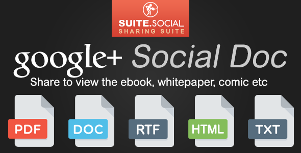 Social Sharer - Google+ Social Doc - CodeCanyon Item for Sale