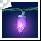 Christmas Decorative Lighting Bulbs String Frame - VideoHive Item for Sale