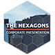 Simple Clear Corporate Presentation with Modular Structure | The Hexagons - VideoHive Item for Sale