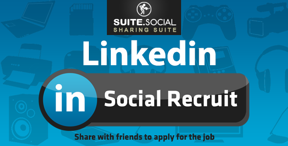 Social Sharer - Linkedin Recruit - CodeCanyon Item for Sale