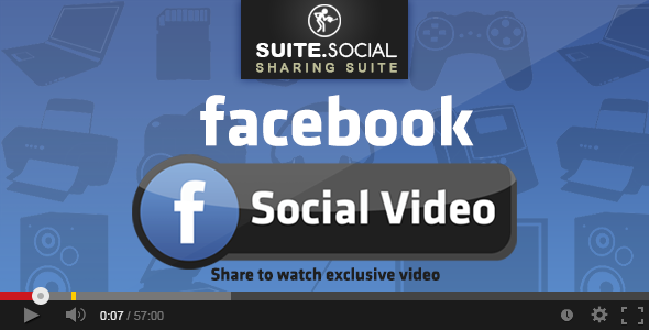 Social Sharer - Facebook Social Video - CodeCanyon Item for Sale