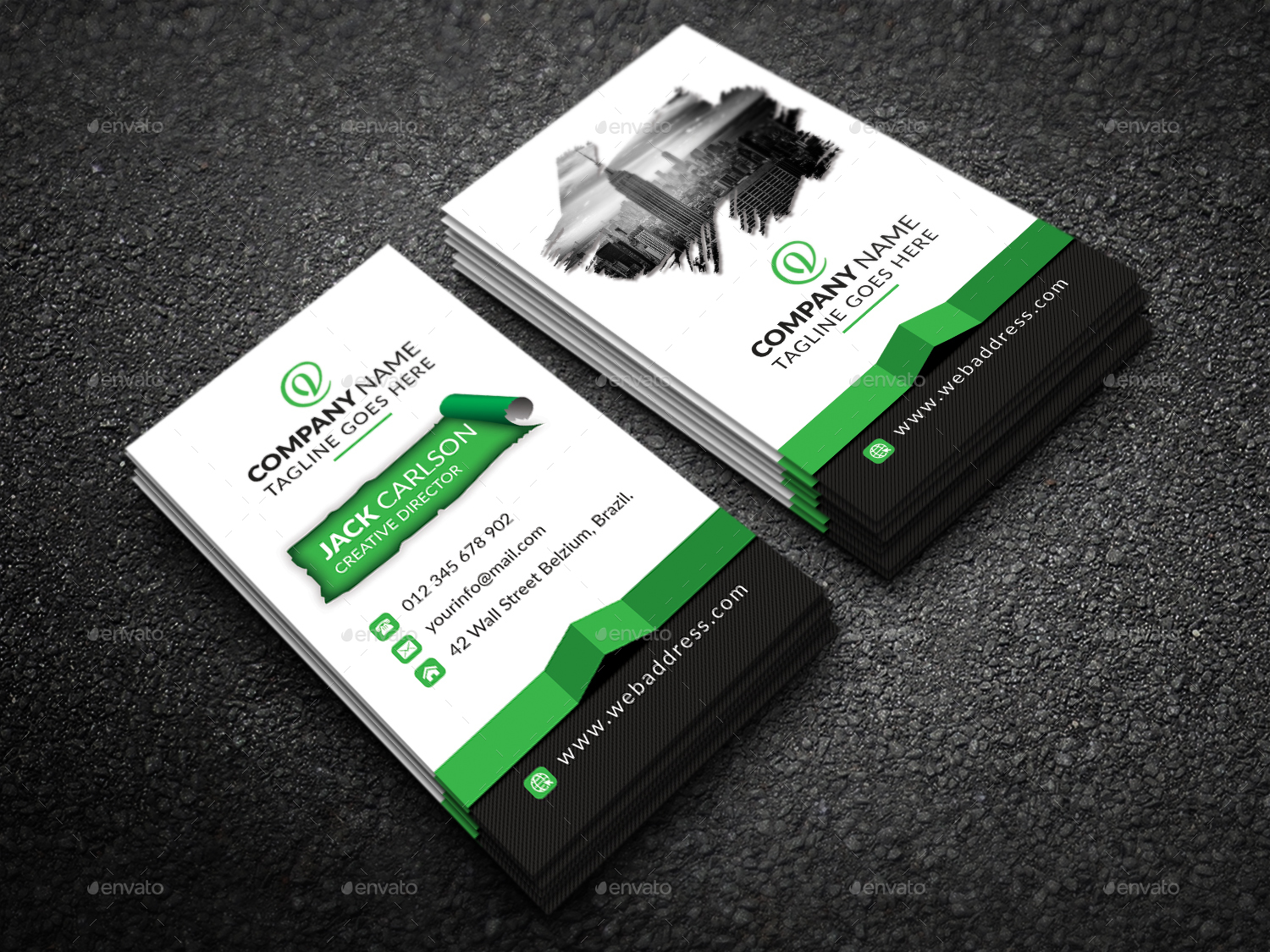 Business Card by Graphic-Forest   GraphicRiver