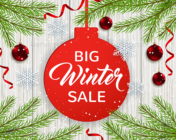 Design for Seasonal Winter Christmas Sale - Christmas Seasons/Holidays