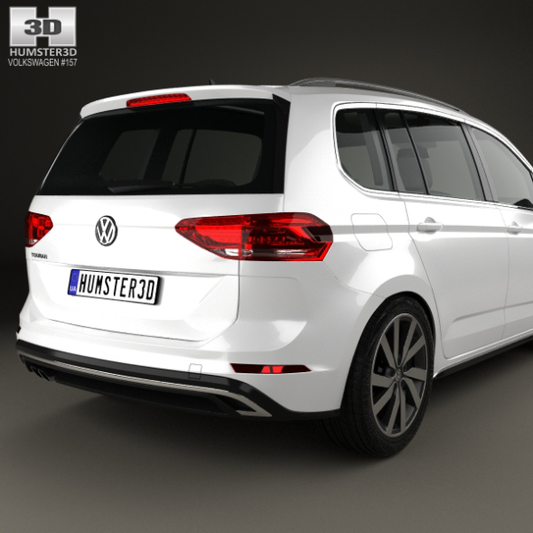 volkswagen touran r line 2015 by humster3d 3docean. Black Bedroom Furniture Sets. Home Design Ideas