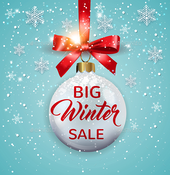 GraphicRiver Seasonal Winter Christmas Sale 21144749