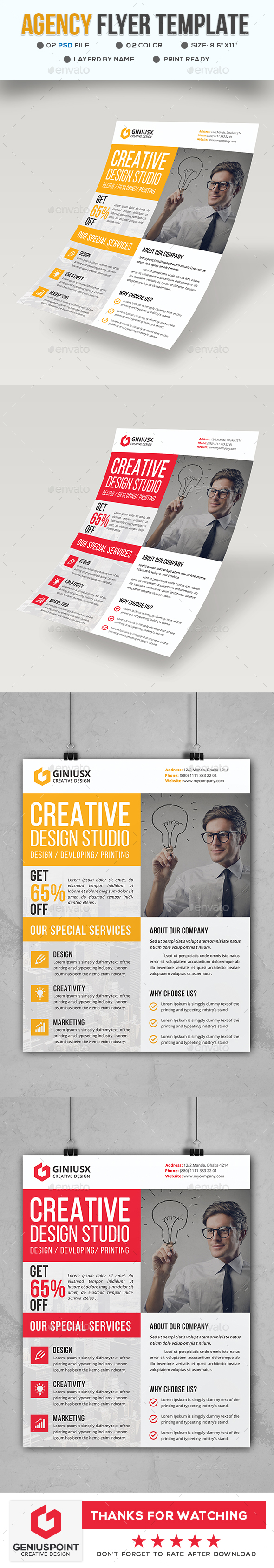 Agency Business Flyer - Corporate Flyers