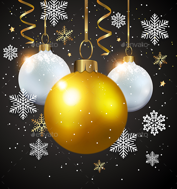GraphicRiver Decorations on a Black Background 21144767