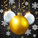 Decorations on a Black Background - GraphicRiver Item for Sale